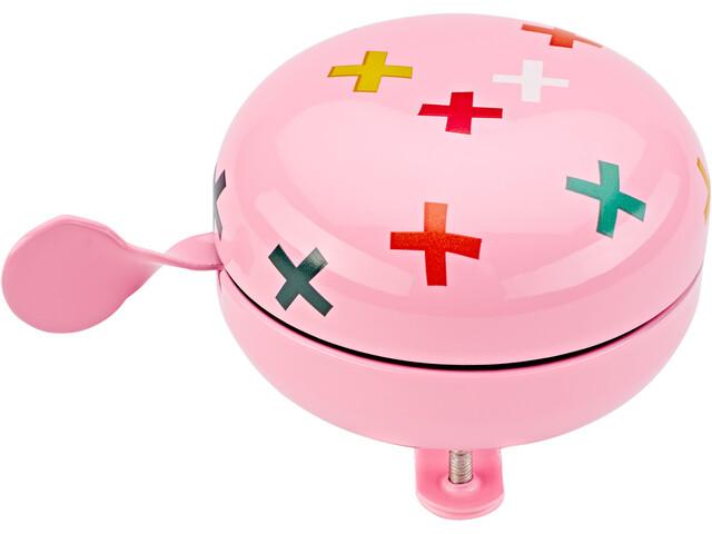 URBAN PROOF Ding Dong Sonnette 8cm, confetti plus pink